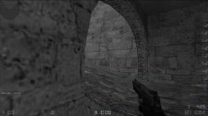 de_dust2_2x2 - неудачный скриншот из Linux-версии Counter-Strike
