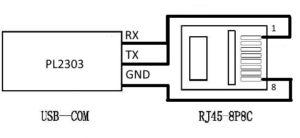 Схема кабеля программирования AnyTone AT-778UV